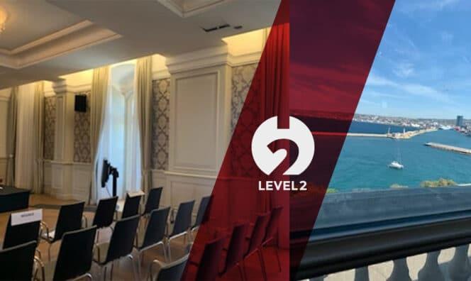 L'événementiel redémarre chez level2 !